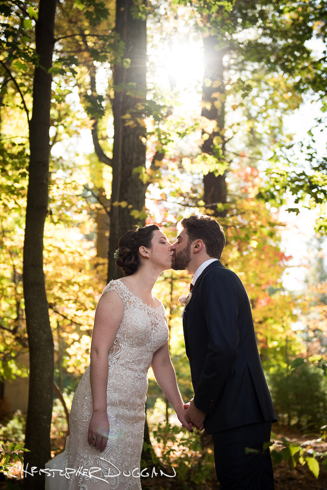 Veronica & Joe's Mohonk Mountain House wedding by Christopher Duggan