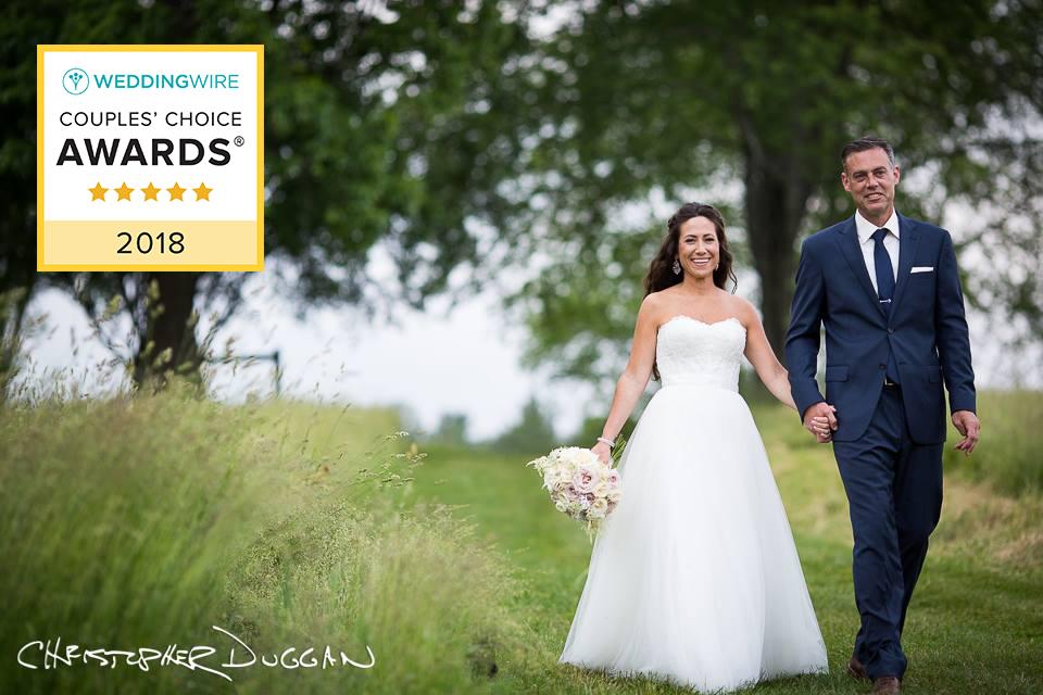 WeddingWire Couples' Choice Award 2018