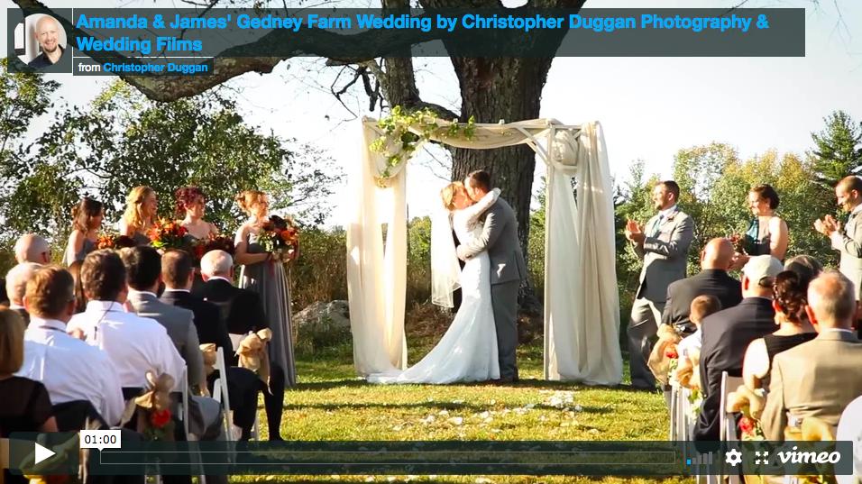 Gedney Farm Wedding Film | Amanda & James