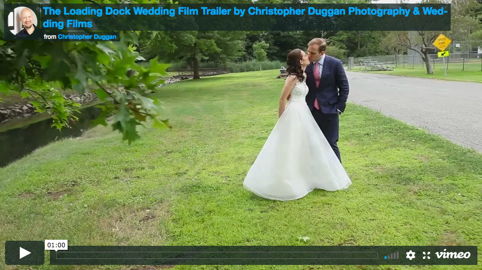 The Loading Dock Wedding Film Trailer | Ashley & Rob