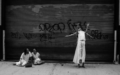 Dance Photoshoot With Netta Yerushalmy & Dancers | Jacob's Pillow Duke Lobby Exhibition