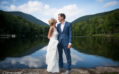 Hillary & Alex | Timber Lake Camp Wedding