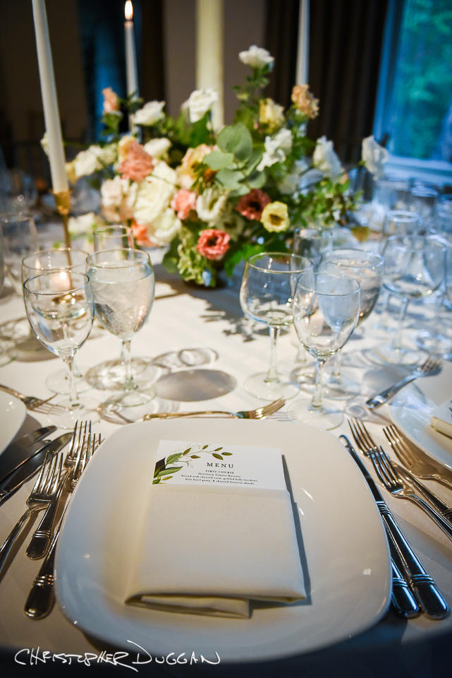 Spring Wedding at the Hudson Room