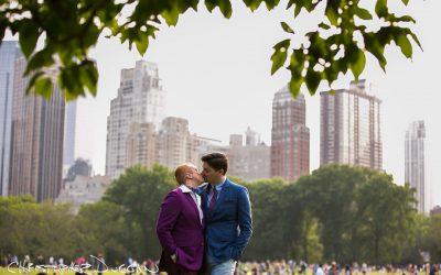 Ezra & Nicholas | Wedding Photos at Robert NYC