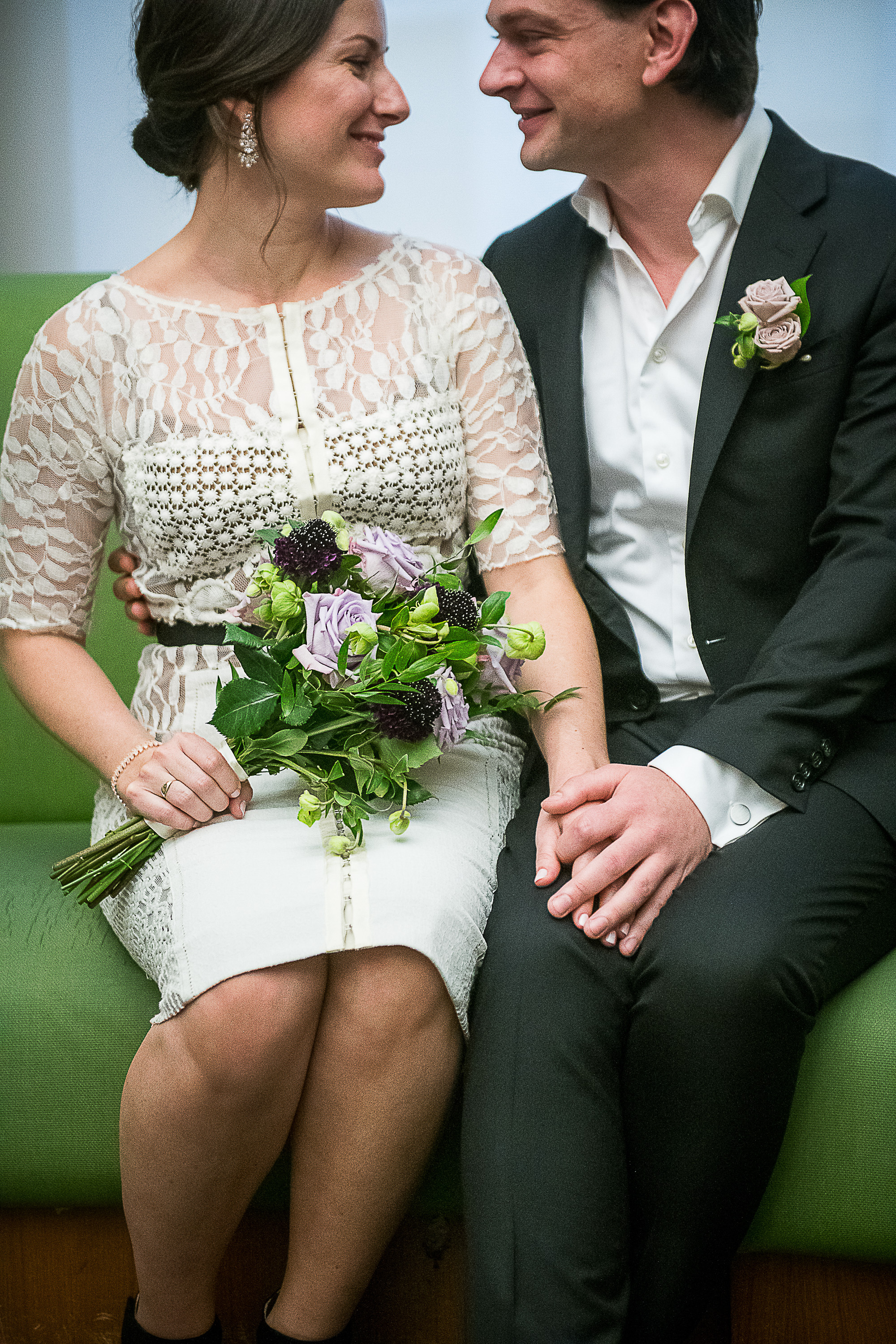 Ashley & Jean | City Hall Wedding