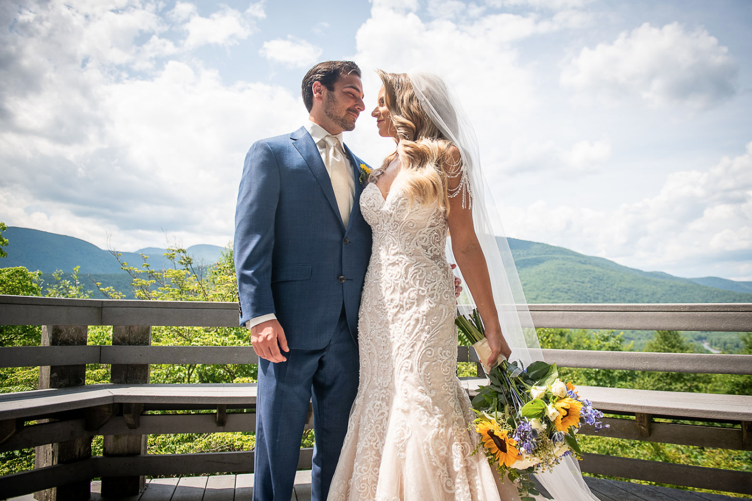 Becky and Blake | Wedding at the Onteora Mountain House