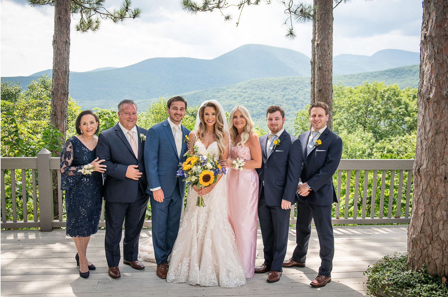 wedding at Onteora Mountain House