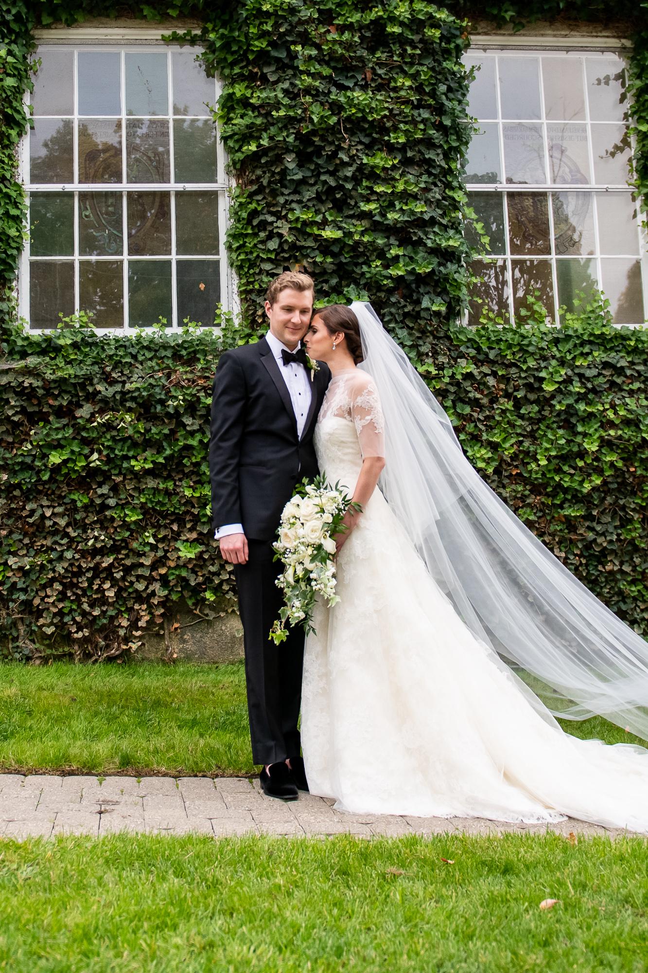 Shauna & Jake's Ridgewood Country Club Wedding; photos by Christopher Duggan