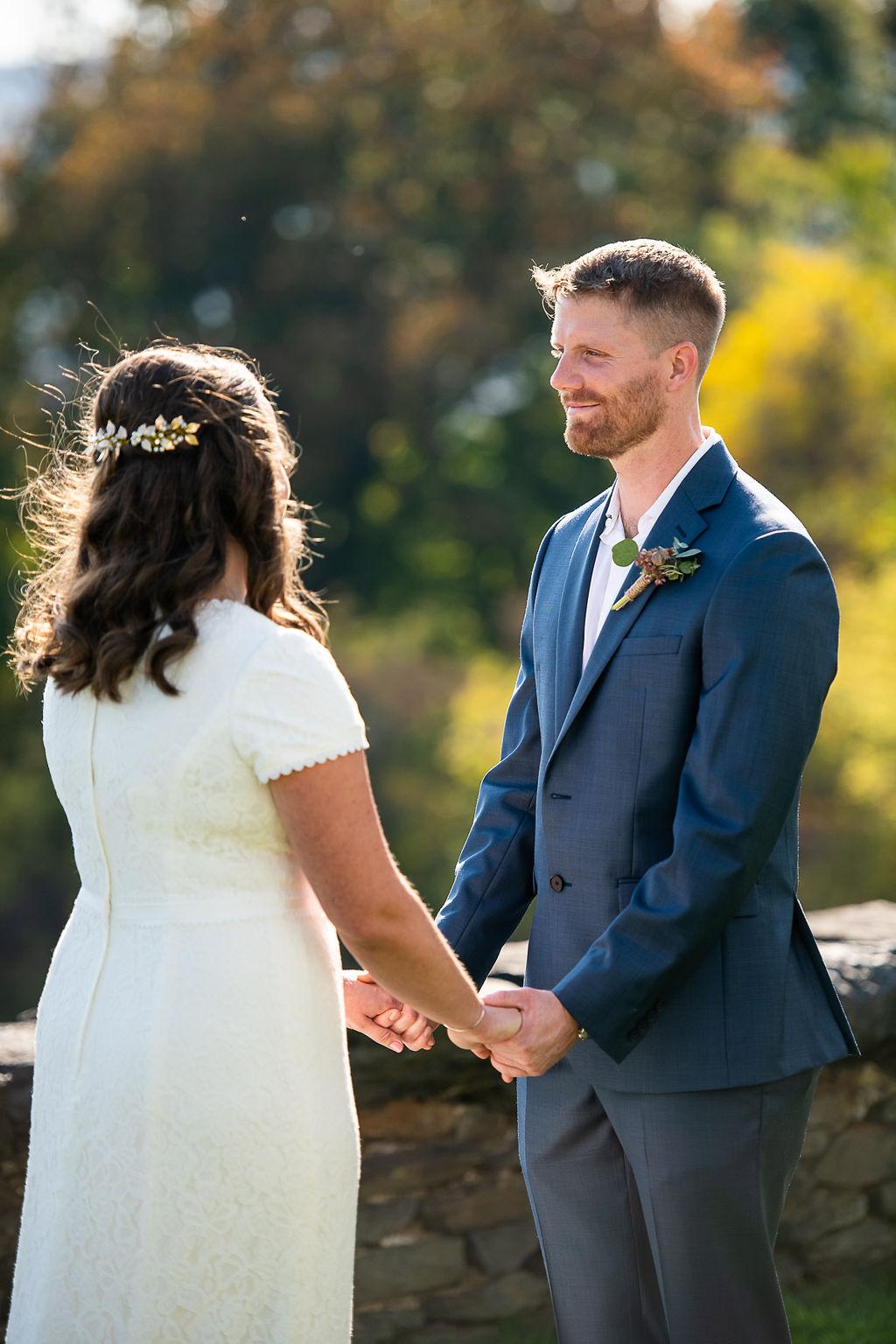 Fall Seranak Wedding Portraits at Tanglewood; Photos by Christopher Duggan