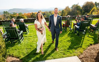 Fall Seranak Wedding Portraits at Tanglewood