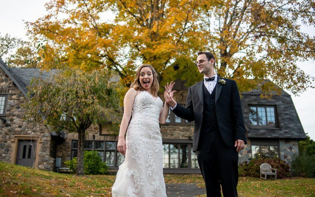 Erica & Michael's Micro-Wedding at Bet Am Shalom
