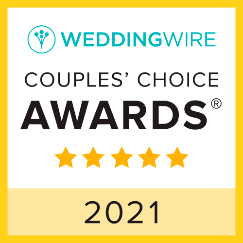 WeddingWire Couples' Choice Awards 2021; Christopher Duggan Photography